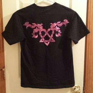Element Shirts - Bam Margera Heartagram Element Skateboard Tee f45d1b471d5